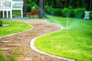 landscaping irrigation installation nrh 2