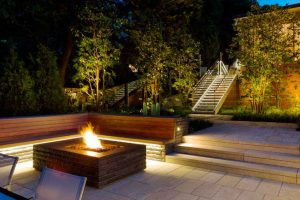landscaping outdoor lighting nrh